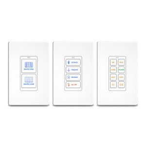 RK1+ (2,4,8 Button) In-Wall Keypad